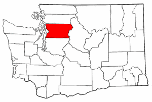Image:Map of Washington highlighting Snohomish County.png