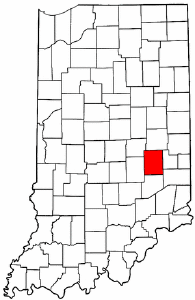 Image:Map of Indiana highlighting Rush County.png