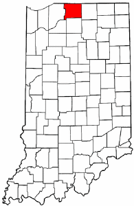 Image:Map of Indiana highlighting St. Joseph County.png