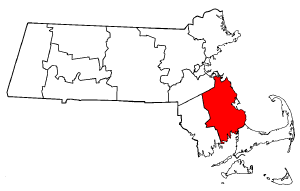 Image:Map of Massachusetts highlighting Plymouth County.png