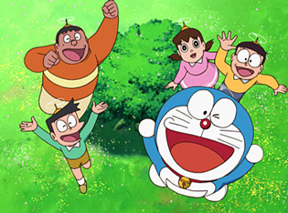 Doraemon and Friends.