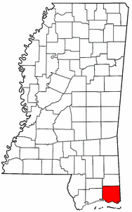 Image:Map of Mississippi highlighting Jackson County.png