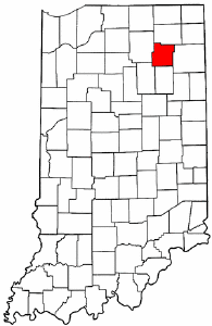 Image:Map of Indiana highlighting Whitley County.png
