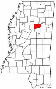 Image:Map of Mississippi highlighting Webster County.png