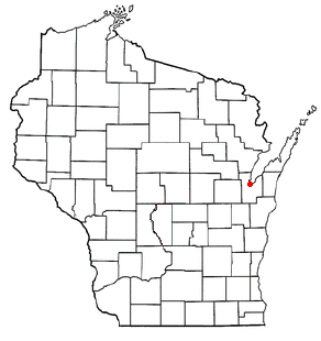 Location of Green Bay, Wisconsin
