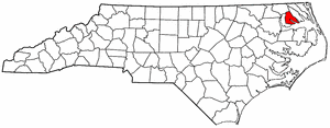 Image:Map of North Carolina highlighting Perquimans County.png