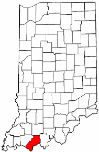Image:Map of Indiana highlighting Spencer County.png