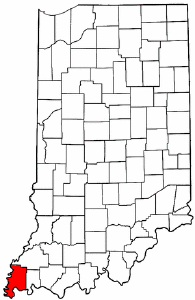 Image:Map of Indiana highlighting Posey County.png