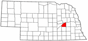 Image:Map of Nebraska highlighting Polk County.png