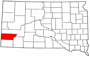 Image:Map of South Dakota highlighting Custer County.png