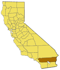 Image:California map showing Riverside County.png