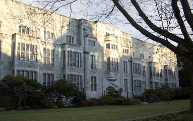 One of UBC's oldest buildings: Chemistry