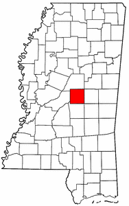Image:Map of Mississippi highlighting Leake County.png
