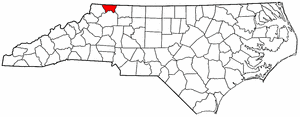 Image:Map of North Carolina highlighting Alleghany County.png