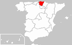 Image:Locator map of Basque Country.png