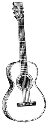 The classical guitar typically has 3  and 3 -wound strings.