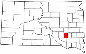 Image:Map of South Dakota highlighting Davison County.png