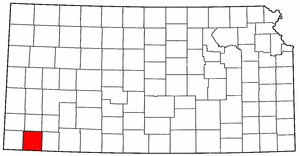 Image:Map of Kansas highlighting Stevens County.png
