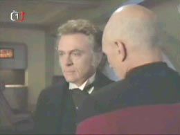 "Moriarty and Picard in ""Ship in a Bottle"""