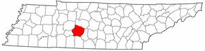 Image:Map of Tennessee highlighting Maury County.png