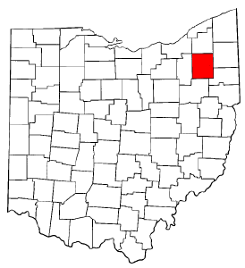 Image:Map of Ohio highlighting Portage County.png