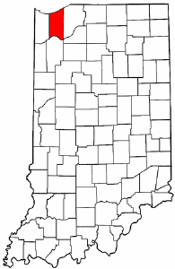 Image:Map of Indiana highlighting Porter County.png
