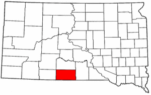 Image:Map of South Dakota highlighting Todd County.png