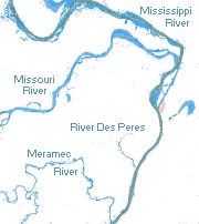 The Rivers around Saint Louis