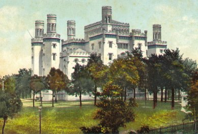 The old Louisiana State Capitol Castle