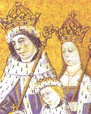 Edward V with his parents  and