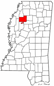 Image:Map of Mississippi highlighting Tallahatchie County.png