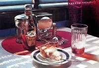 , Pie with Ice Tea,  Private Collection.