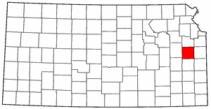 Image:Map of Kansas highlighting Franklin County.png