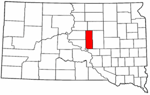 Image:Map of South Dakota highlighting Hyde County.png