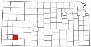 Image:Map of Kansas highlighting Haskell County.png