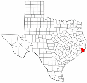 Image:Map of Texas highlighting Jefferson County.png