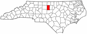Image:Map of North Carolina highlighting Alamance County.png