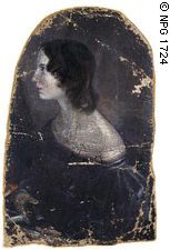 Portrait by her brother