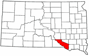 Image:Map of South Dakota highlighting Charles Mix County.png
