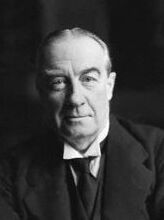 , Chamberlain's predecessor, with whom he had a long if turbulent political partnership