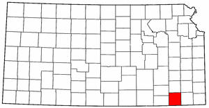 Image:Map of Kansas highlighting Montgomery County.png