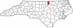 Image:Map of North Carolina highlighting Vance County.png