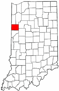 Image:Map of Indiana highlighting Benton County.png
