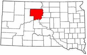 Image:Map of South Dakota highlighting Dewey County.png