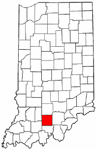 Image:Map of Indiana highlighting Orange County.png