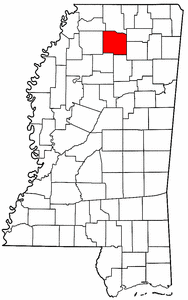 Image:Map of Mississippi highlighting Lafayette County.png