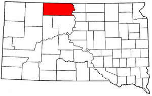 Image:Map of South Dakota highlighting Corson County.png