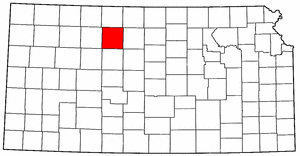 Image:Map of Kansas highlighting Rooks County.png