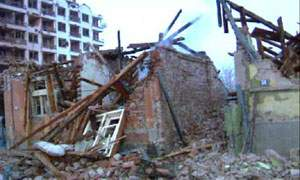 Residential areas and Serbian television were bombed