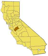 Image:California map showing Merced County.png